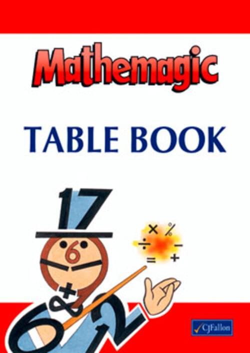 Mathemagic Table Book CJF