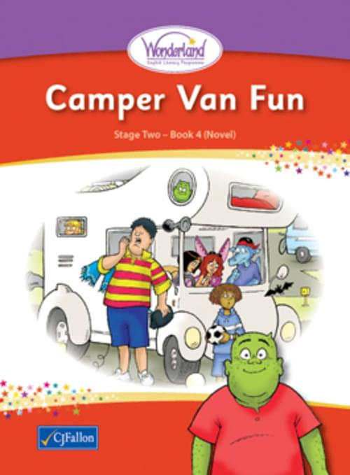 Wonderland Book 4 - Camper Van Fun - Novel