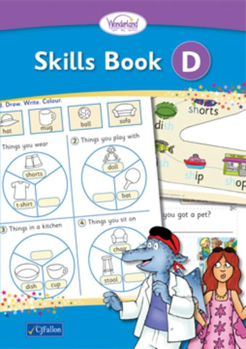 Wonderland Skills Book D