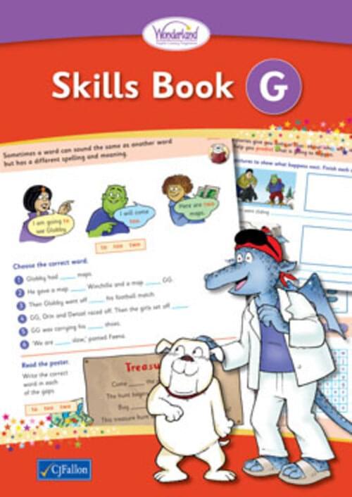 Wonderland Skills Book G