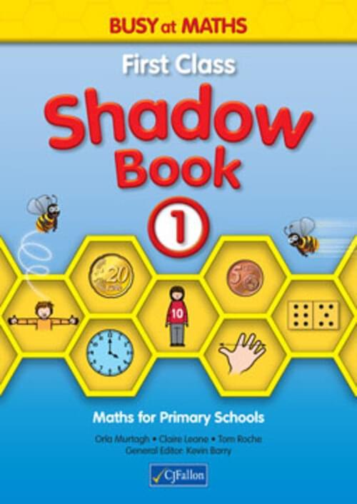 Busy at Maths 1st Class Shadow Book CJF