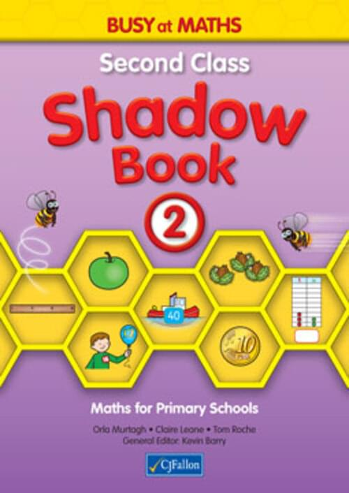 Busy at Maths 2nd Class Shadow Book CJF