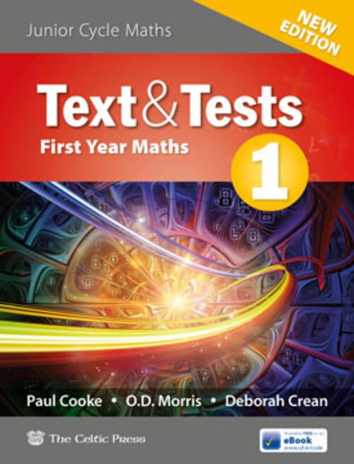 Text & Tests 1 Project Maths (New Edition)