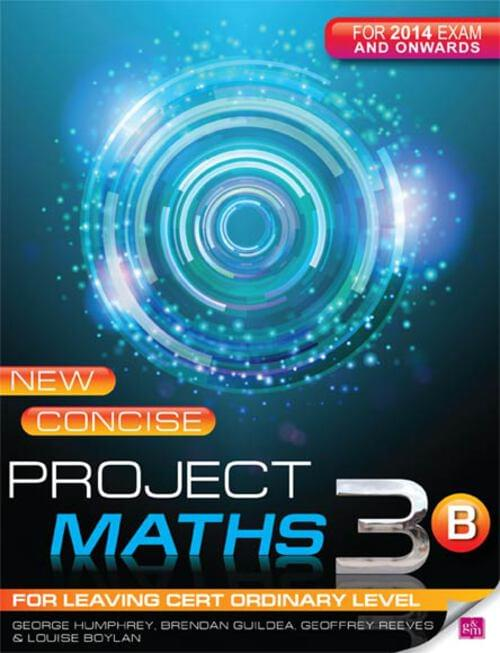 New Concise Project Maths 3B Leaving Cert