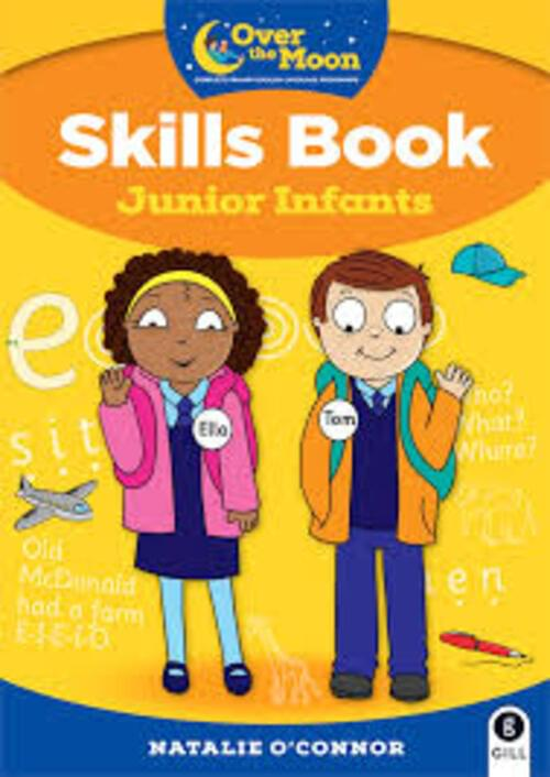 Over The Moon Junior Infants Skills Book