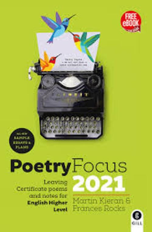 Poetry Focus 2021 Leaving Cert