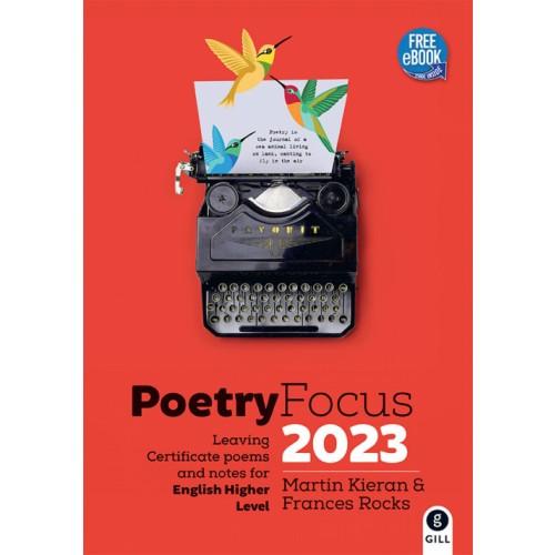 Poetry Focus 2023 -Authors Martin Kieran/Frances Rocks