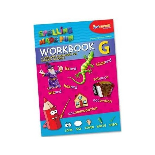 Spelling Made Fun Woorkbook G