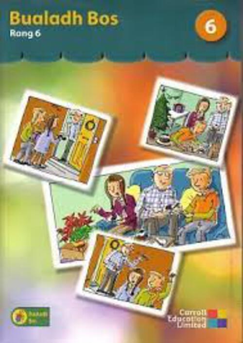 Bualadh Bos 6 - 6th Class Pupil Book - Gill