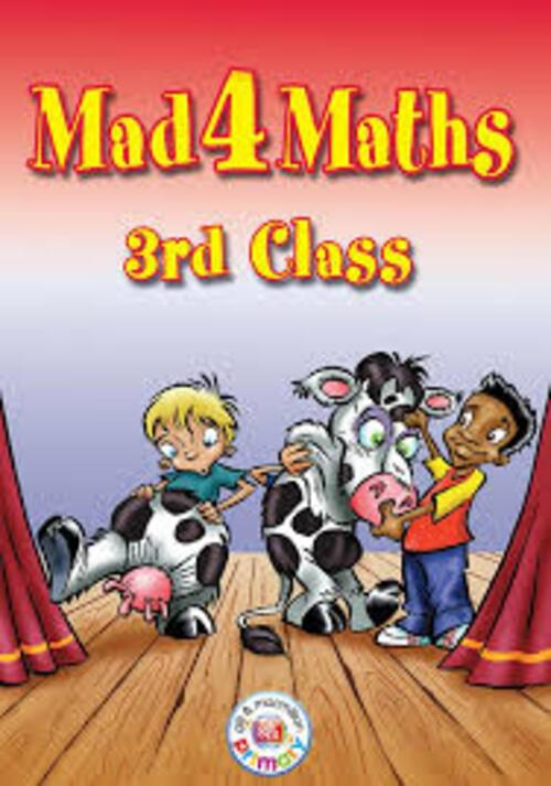 Mad 4 Maths 3rd Class Gill and McMillan