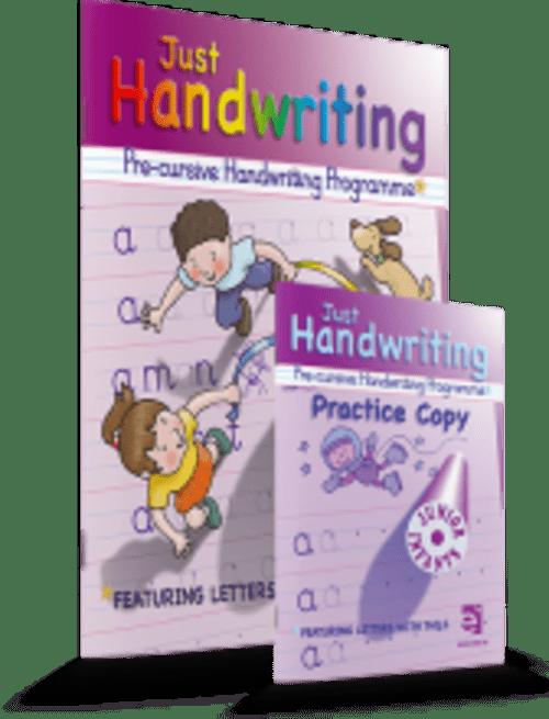 Just Handwriting Junior Infants (Pre-Cursive) Educate.ie
