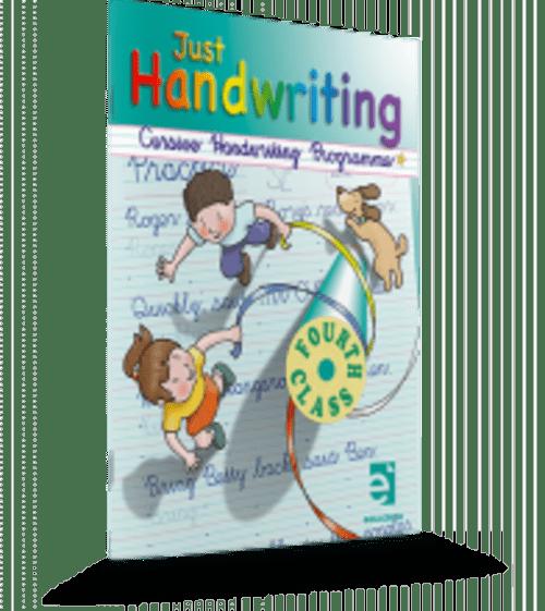 Just Handwriting 4th Class (Cursive) Educate.ie