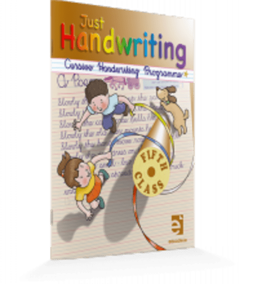Just Handwriting 5th Class (Cursive) Educate.ie