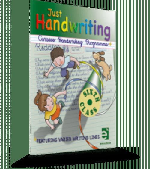 Just Handwriting 6th Class (Cursive) Educate.ie