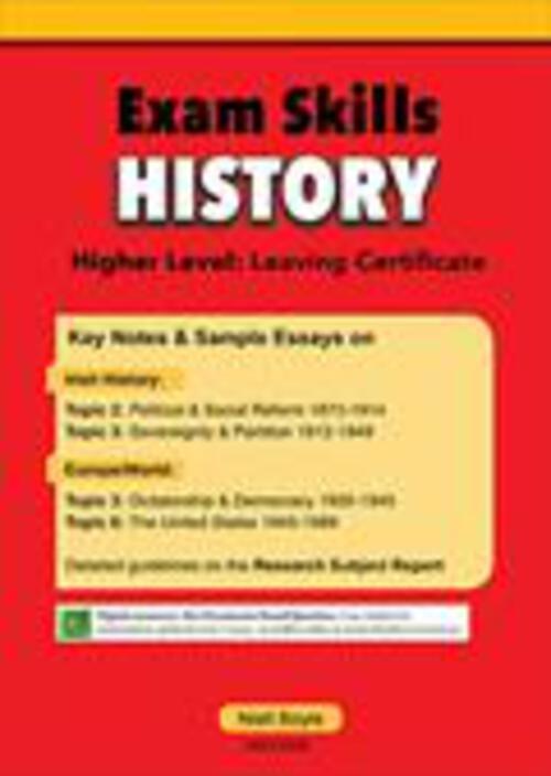 Exam Skills History - Mentor