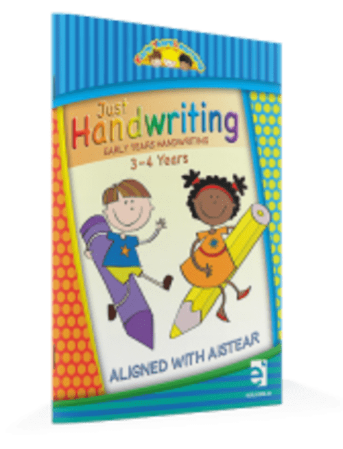 Just Handwriting Early Years Learning (3-4 years) - Educate.ie