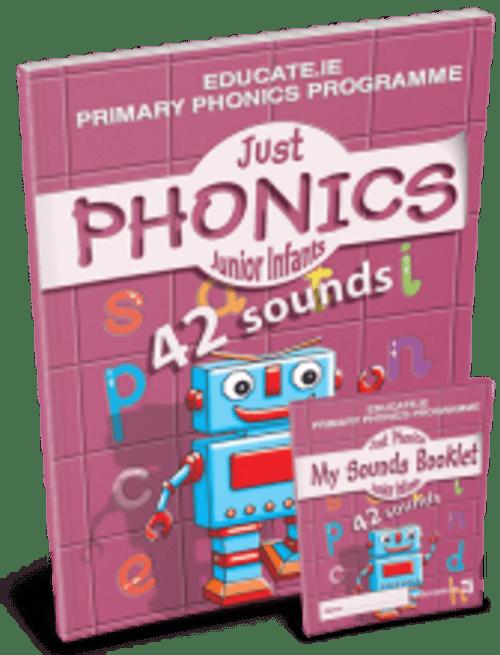 Just Phonics Junior Infants (42 Sounds) - Educate.ie