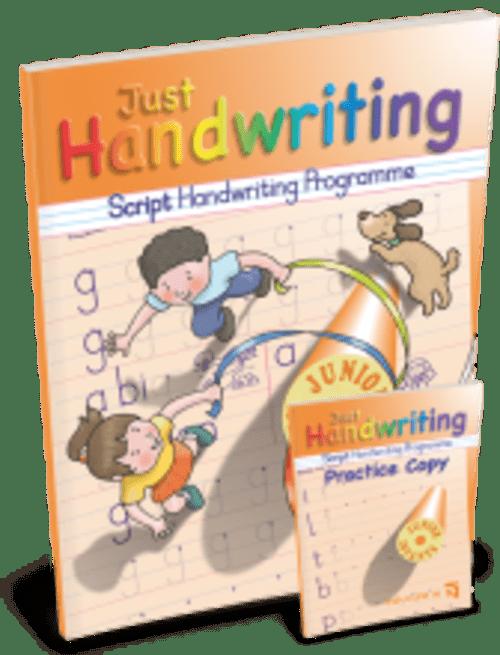 Just Handwriting Junior Infants (Script Style) Educate.ie