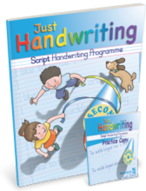 Just Handwriting 2nd Class (Script Style) Educate.ie