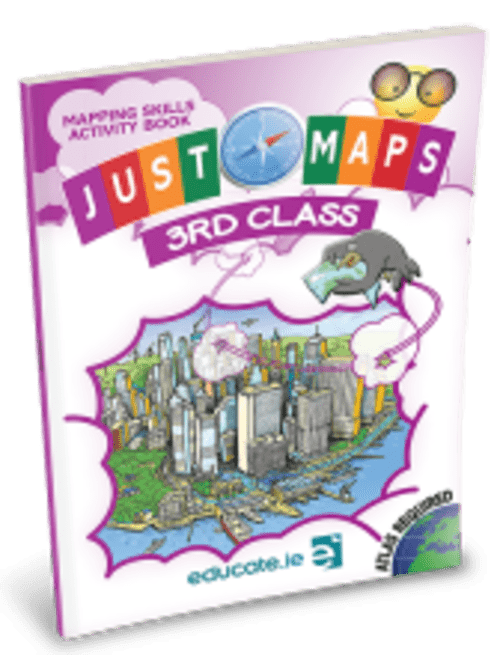 Just Maps 3rd Class - Educate.ie