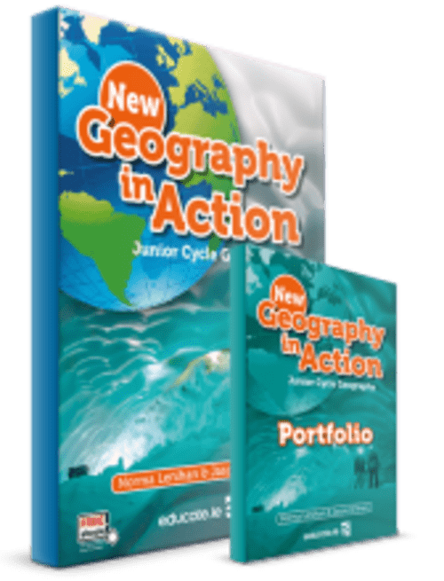 New Geography In Action Pack - Includes (Text and Portfolio/Activity Book)