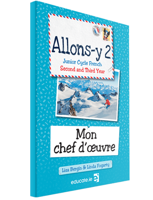 Allons-y 2 Mon chef d'oeuvre Book Porfolio Only