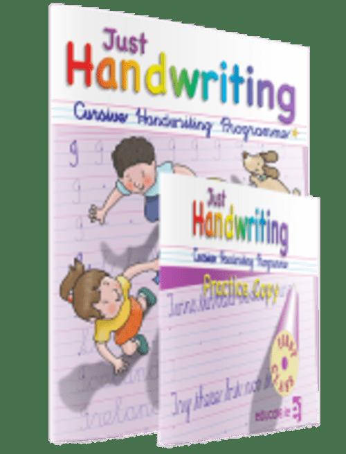 Just Handwriting NEW Cursive 1st Class
