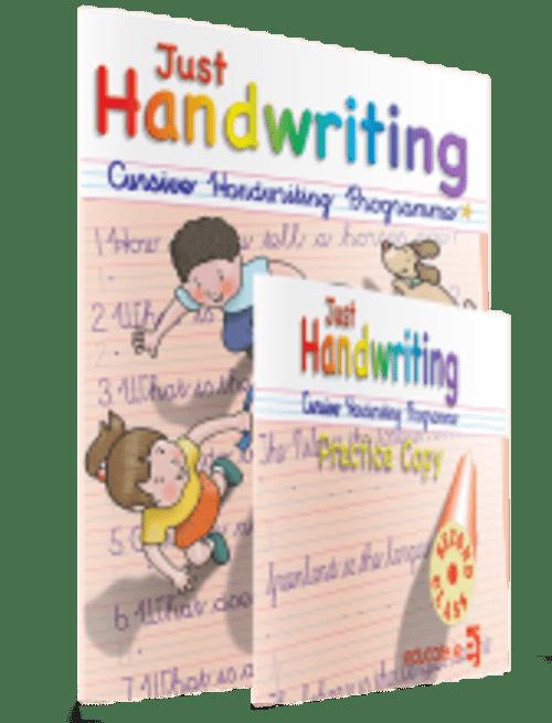 Just Handwriting NEW Cursive 2nd Class
