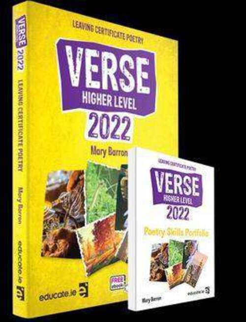 Verse 2022 (HL) Textbook & Poetry Skills Portfolio Book