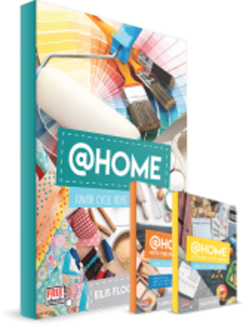 JC Home Economics  at Home - Pack with Book and Workbooks
