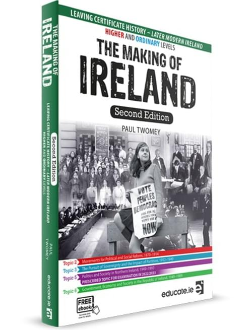 The Making of Ireland (2nd Edition) (HL & OL)