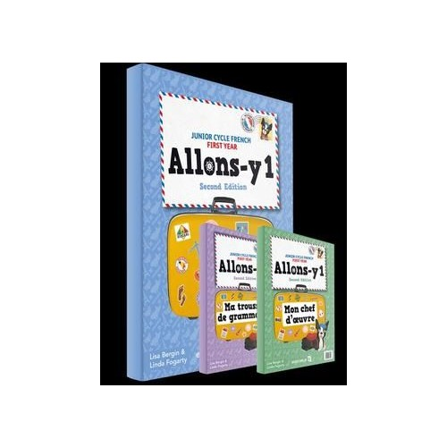 Allons-y 1 2nd Edition Textbook, Mon Chef D'oeuvre & Lexique