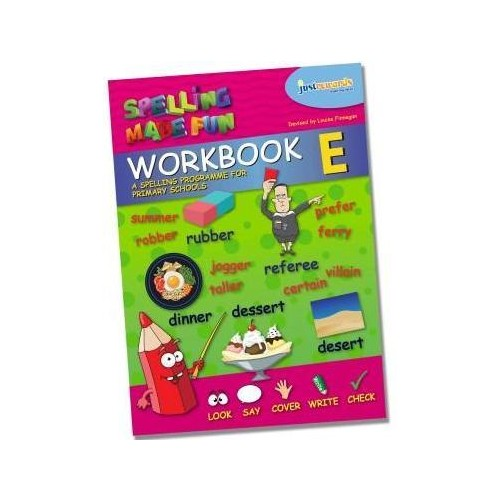 Spelling Made Fun Workbook E