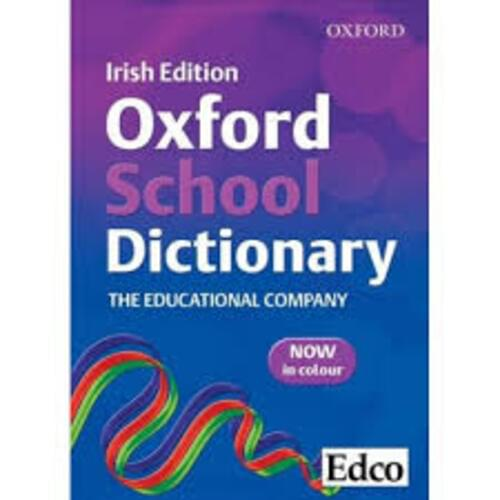 EDCO OXFORD SCHOOL DICTIONARY Edco