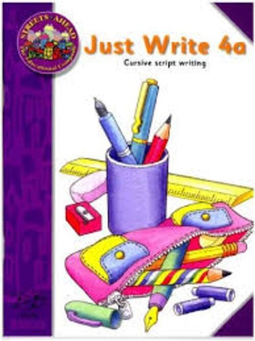 JUST WRITE 4A - (CURSIVE) Edco