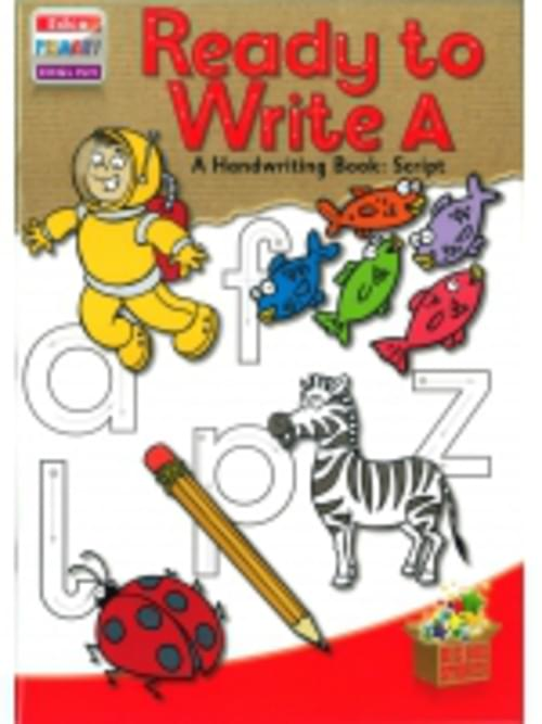 Ready to Write A - Junior Infants