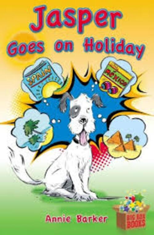 Jasper Goes on Holiday Novel - 2nd Class