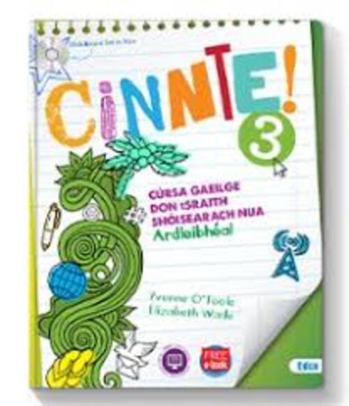 Cinnte 3 Pack - (Text & Workbook)