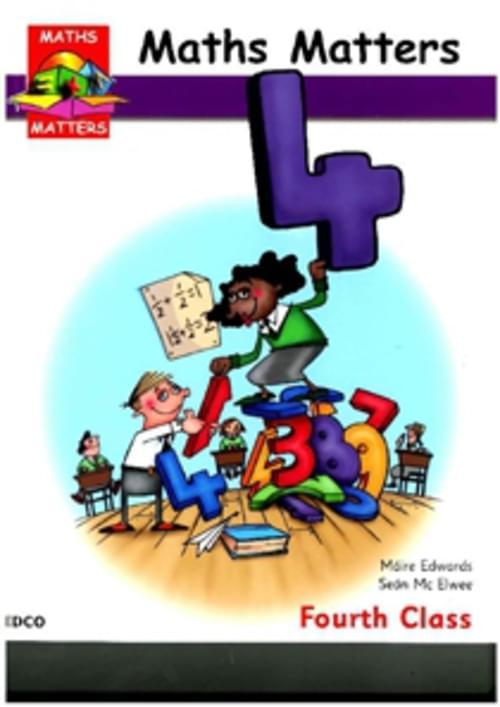 MATHS MATTERS 4 PUPILS BOOK Edco