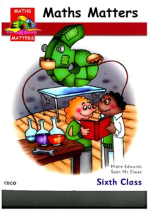 MATHS MATTERS 6 PUPILS BOOK Edco