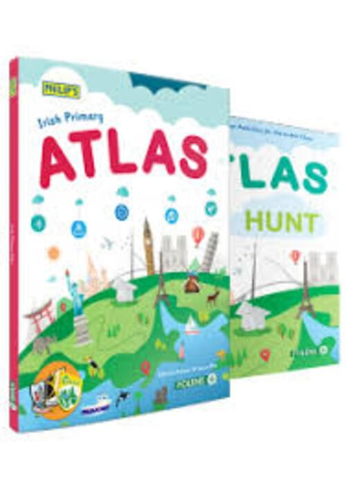 New Primary Phillips Atlas Text and Atlas Hunt Pack
