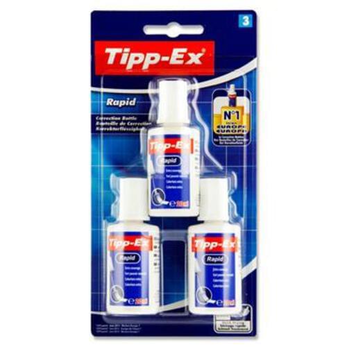 Tippex Card 3 20Ml Rapid Fluid - Sponge