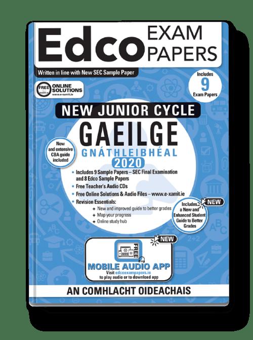 Gaeilge Gnth. Sample Papers (OL) + Audio App + Teacher CD + Solutions