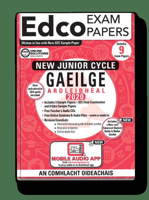 Gaeilge Ard. Sample Papers (HL) + Audio App + Teacher CD + Solutions