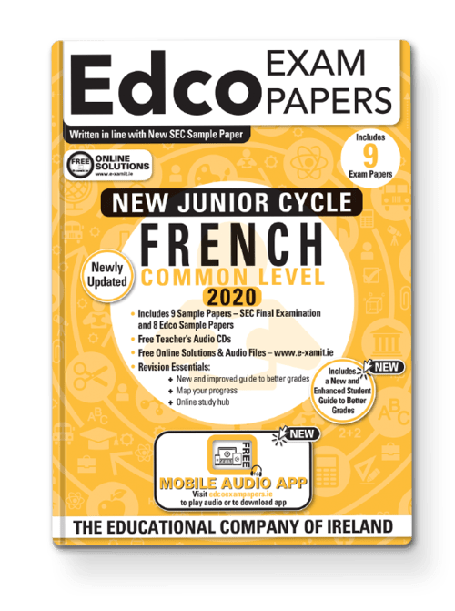French Common Level Sample Papers + Audio App + Teacher CD + Solutions
