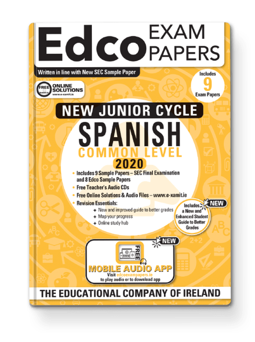 Spanish Common Level Sample Papers + Audio App + Teacher CD + Solutions