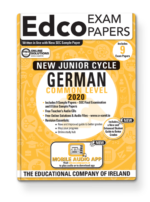German Common Level Sample Papers + Audio App + Teacher CD + Solutions