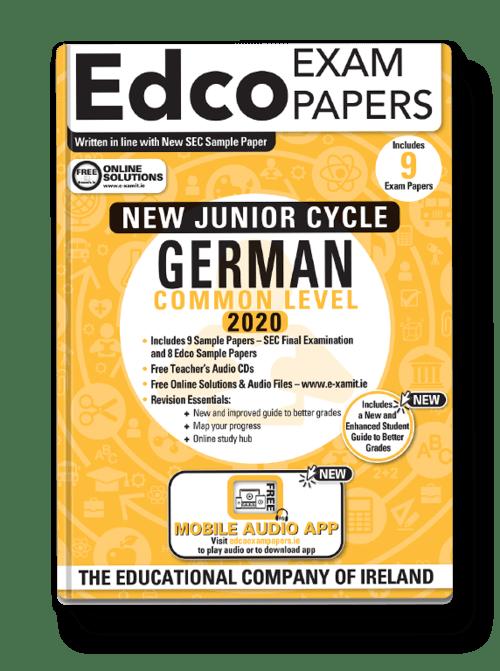 German Common Level Sample Papers + Audio App + Teacher CD + Solutions