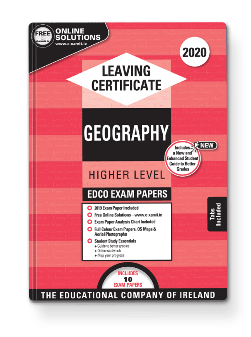 Geography Higher Sample & Past Papers + Solutions + Osi Legend