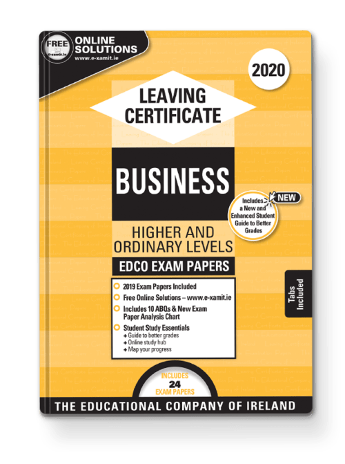 Business Ordinary & Higher Past Papers + Solutions